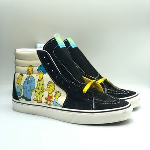 The Simpsons Vans SK8-Hi Family Portrait Men 11.5